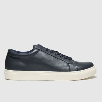 schuh Navy Victor Mens Trainers#