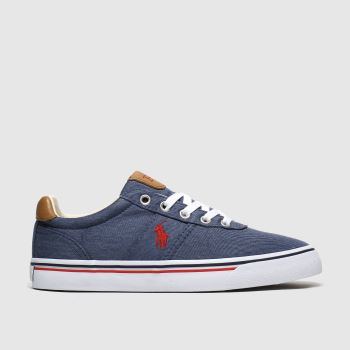 Polo Ralph Lauren Navy Hanford Ne c2namevalue::Mens Trainers