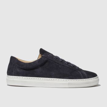 Schuh Navy & White Alexis Sneaker Mens Shoes