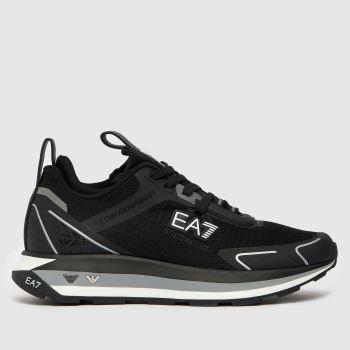 EA7 Schwarz-Weiß Altura Herren Sneaker