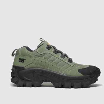 Cat-footwear Khaki Intruder 1 c2namevalue::Mens Trainers