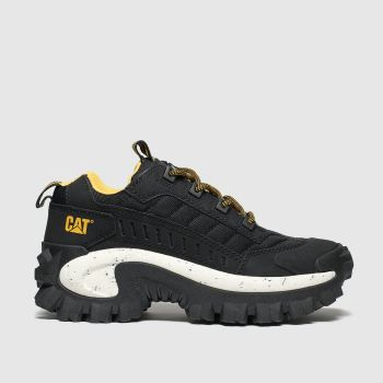Cat-Footwear black intruder 1 trainers