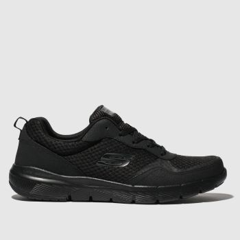 Skechers Black Flex Advantage 3.0 Trainers