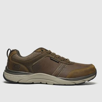 Skechers Brown Senstinal Lunder Mens Trainers