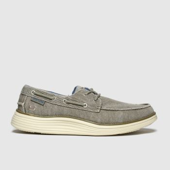Skechers Beige Status 2.0 Lorano c2namevalue::Mens Trainers