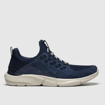 Skechers Navy Ingram Mens Trainers