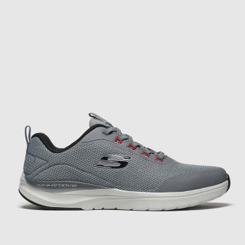 Skechers Grey Ultra Groove c2namevalue::Mens Trainers
