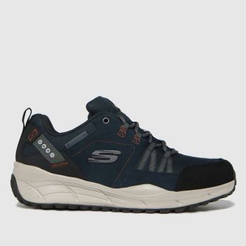 SKECHERS Navy & Grey Equalizer 4.0 Trail Trainers