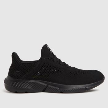 SKECHERS Black Ingram Brexie Mens Trainers