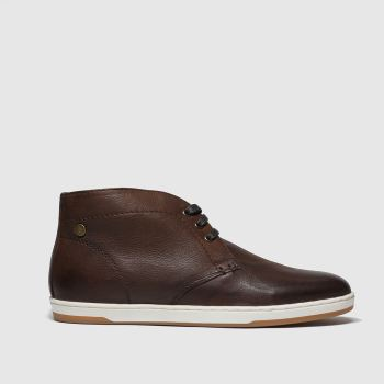 BASE LONDON BROWN TANGO TRAINERS