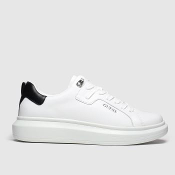 Guess White Kurt Mens Trainers