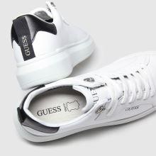 Herren guess Weiß Kurt Sneaker
