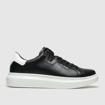 GUESS Black Kurt Mens Trainers#