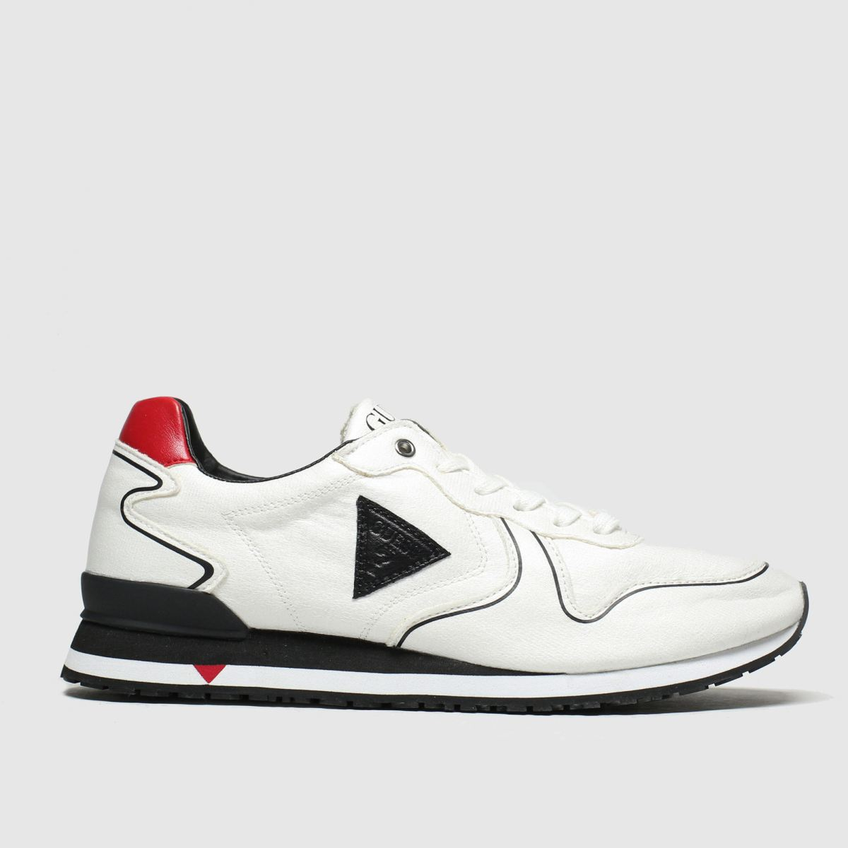 Guess White New Glory Trainers