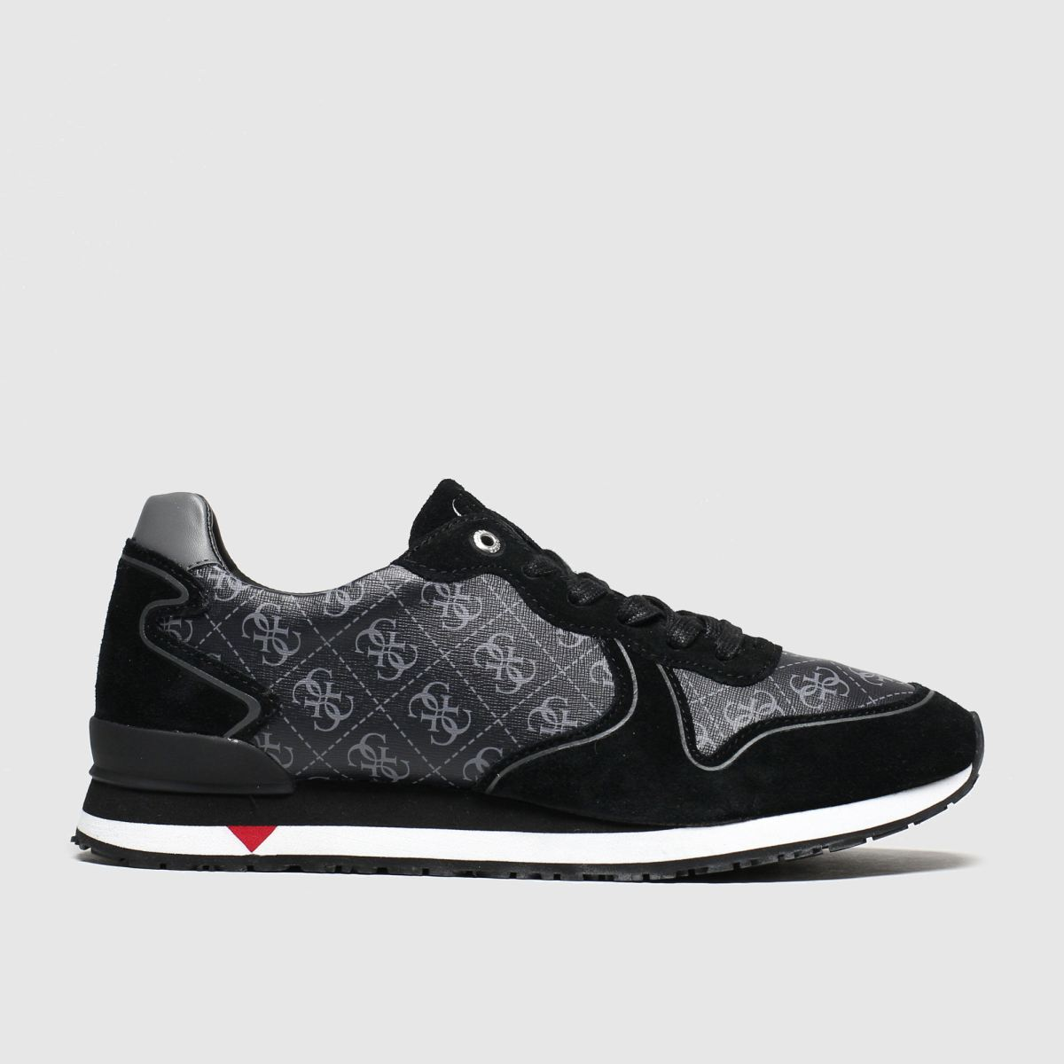 Guess Black & Grey New Glory Trainers