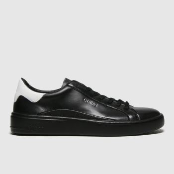 GUESS Black & White Verona Mens Trainers