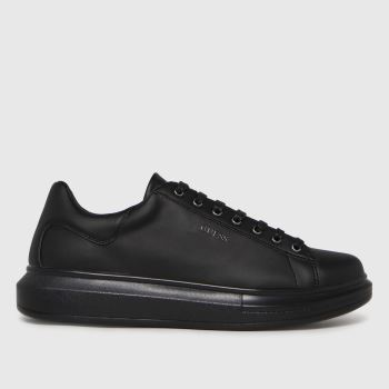 GUESS Black Salerno Mens Trainers