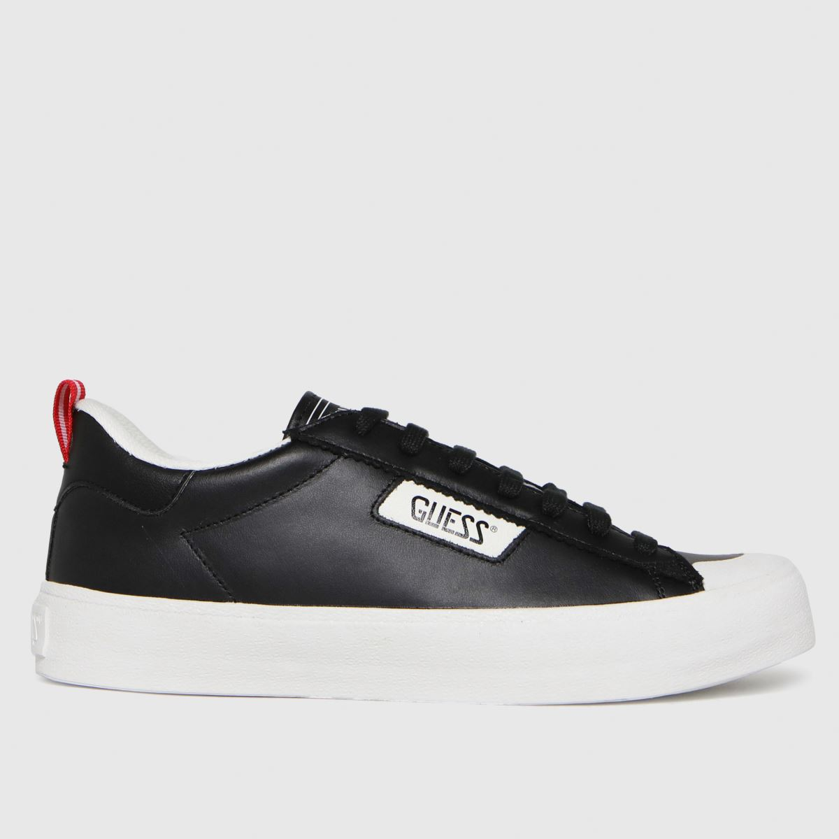 GUESS Black & White Mima Trainers