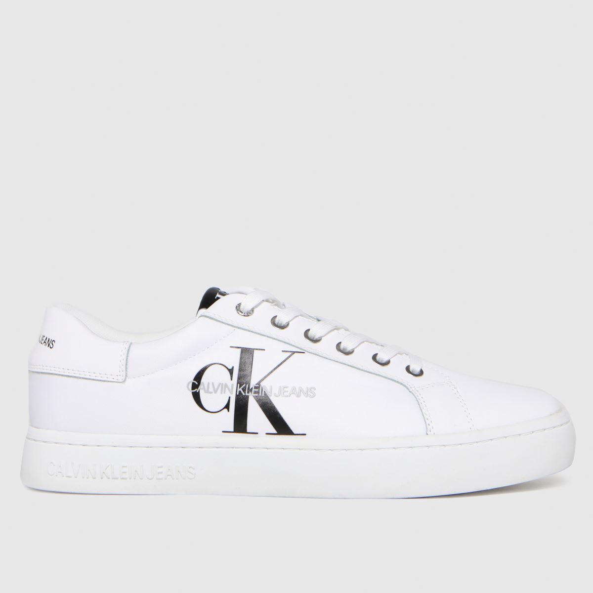 CALVIN KLEIN White Cupsole Sneaker Trainers