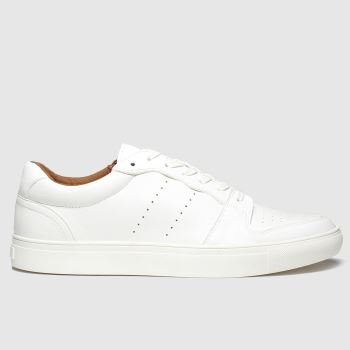 schuh White Wigham Mens Trainers
