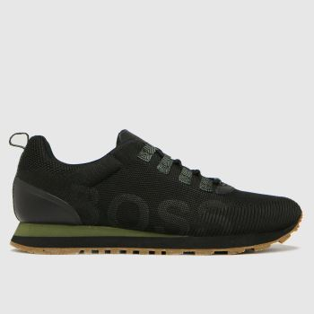BOSS Black Parkour Runn Mens Trainers