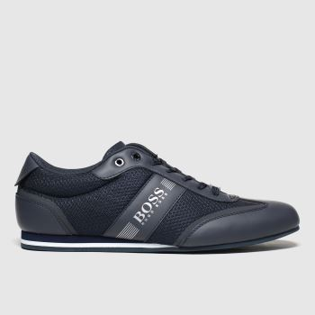 BOSS Navy Lighter Low c2namevalue::Mens Trainers