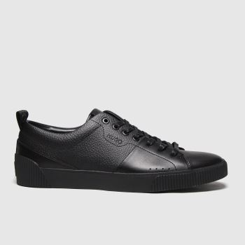 HUGO Black Zero Tennis Mens Trainers