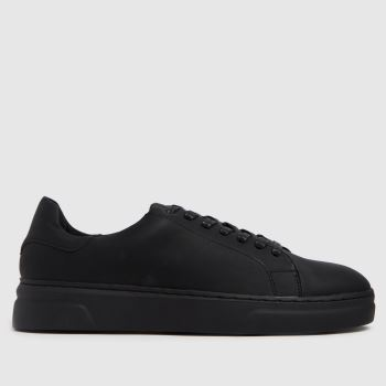 schuh Black Wade Mens Trainers