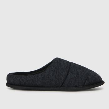 schuh Grey Seth Padded Mule Mens Slippers