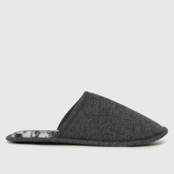 schuh Grey Sanders Tie Dye Mule Mens Slippers
