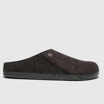 BIRKENSTOCK Brown Zermatt Mens Slippers