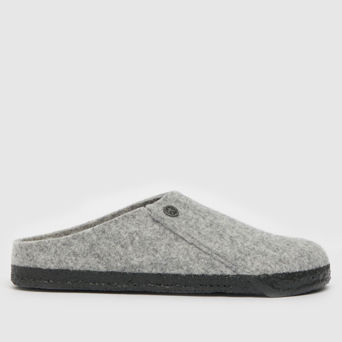 BIRKENSTOCK Grey Birk Zermatt Slipper Slippers