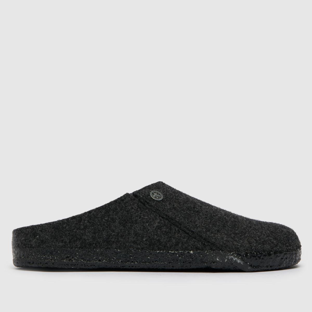 BIRKENSTOCK Dark Grey Zermatt Slippers