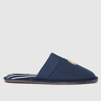 Polo Ralph Lauren Navy Klarence Mens Slippers