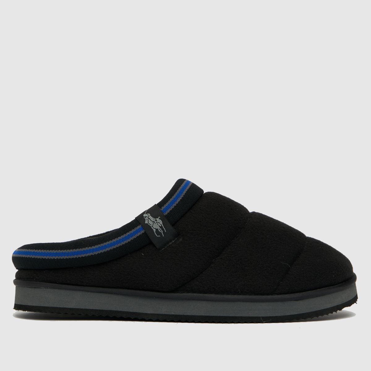 Polo Ralph Lauren Black Sutton Slippers