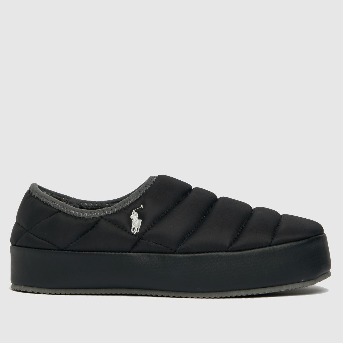 Polo Ralph Lauren Black Maxson Slippers