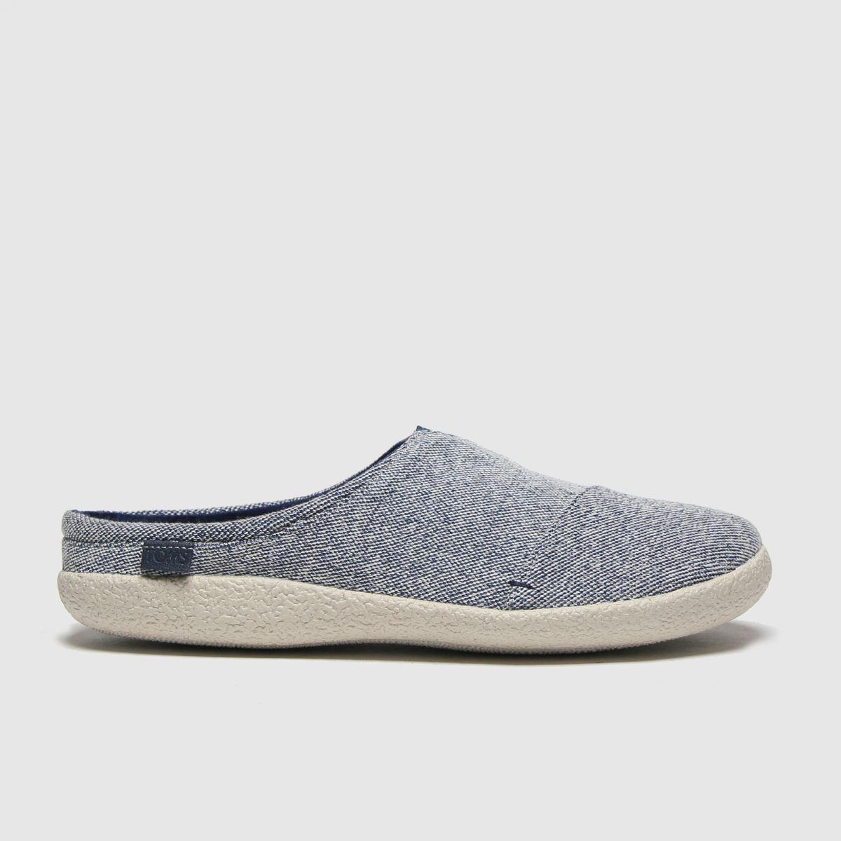 TOMS Navy Berkeley Slippers
