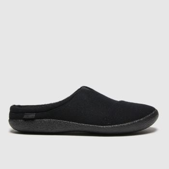 TOMS Black Berkeley Mens Slippers