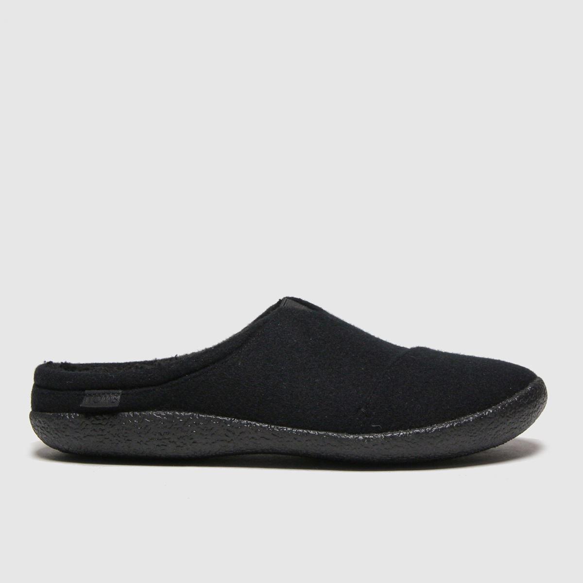TOMS Black Berkeley Slippers