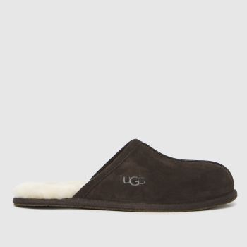 UGG Brown Scuff Mens Slippers