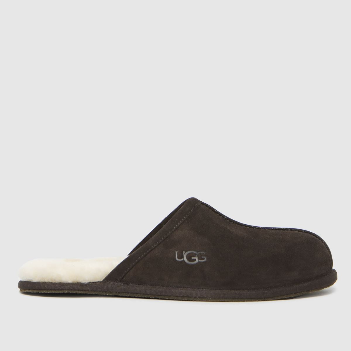 UGG Brown Scuff Slippers