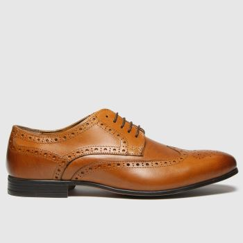 schuh Tan Rowen Brouge Mens Shoes