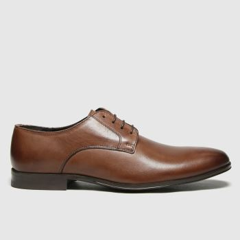 schuh Brown Remi Derby Mens Shoes