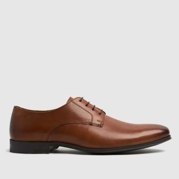 schuh Tan Remi Derby Mens Shoes