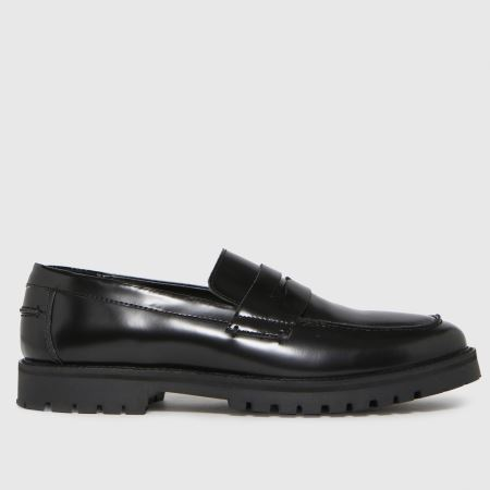 schuh Rogan Leather Hi Shine Loafertitle=