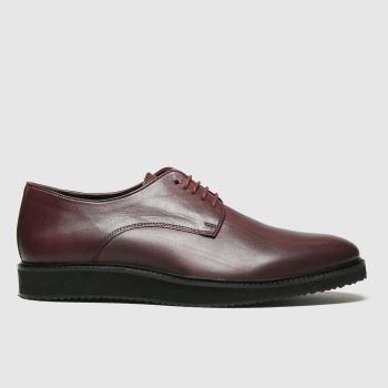 schuh Burgundy Ruben Mens Shoes