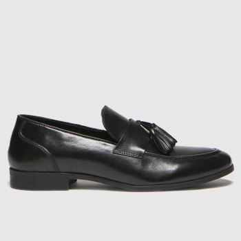 schuh Black Ross Tassel Mens Shoes