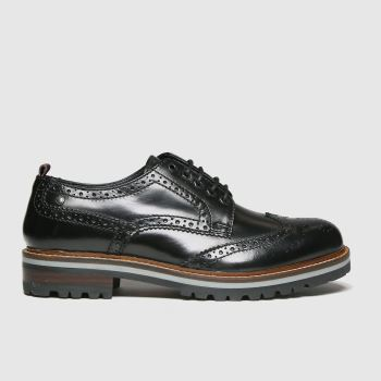 Base London Black Colver Mens Shoes