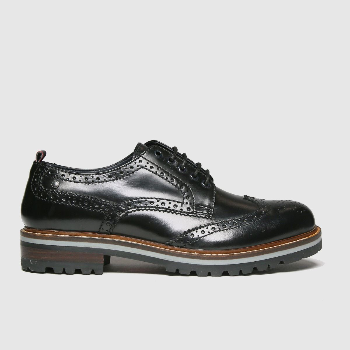 Base London Black Colver Shoes