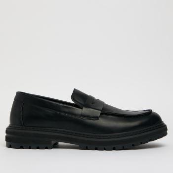 schuh Black Ryder Loafer Mens Shoes